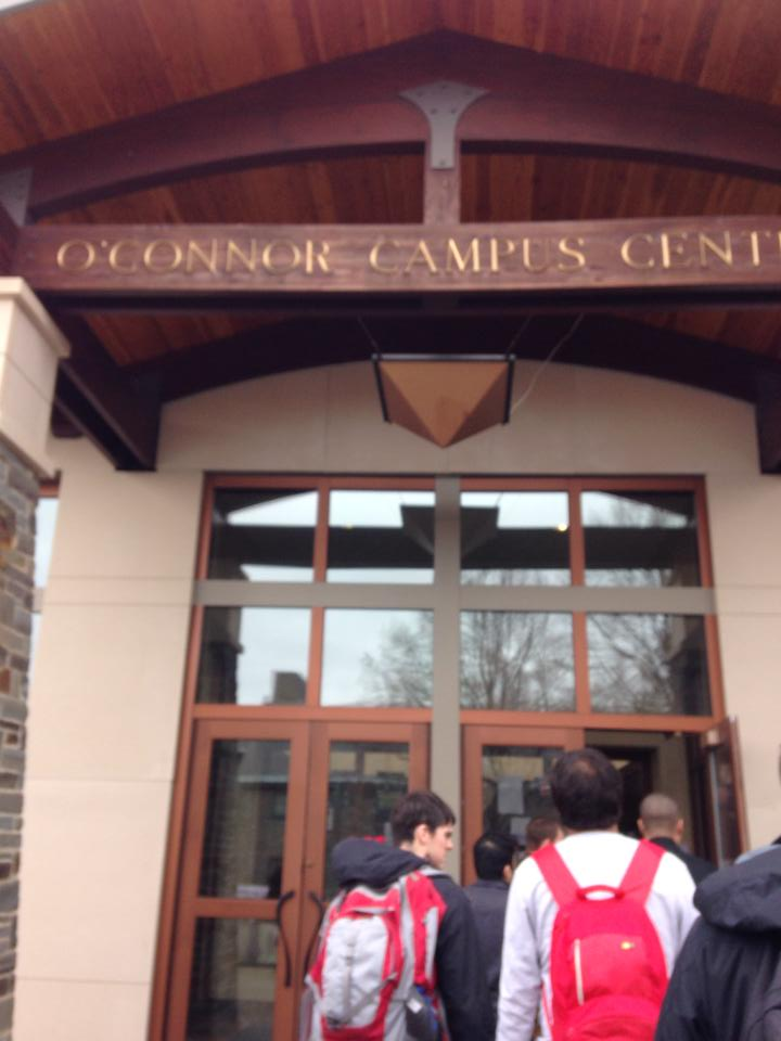 A shot of the campus center, where some of the rounds were held.