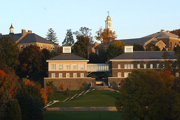 A shot of the Colgate campus